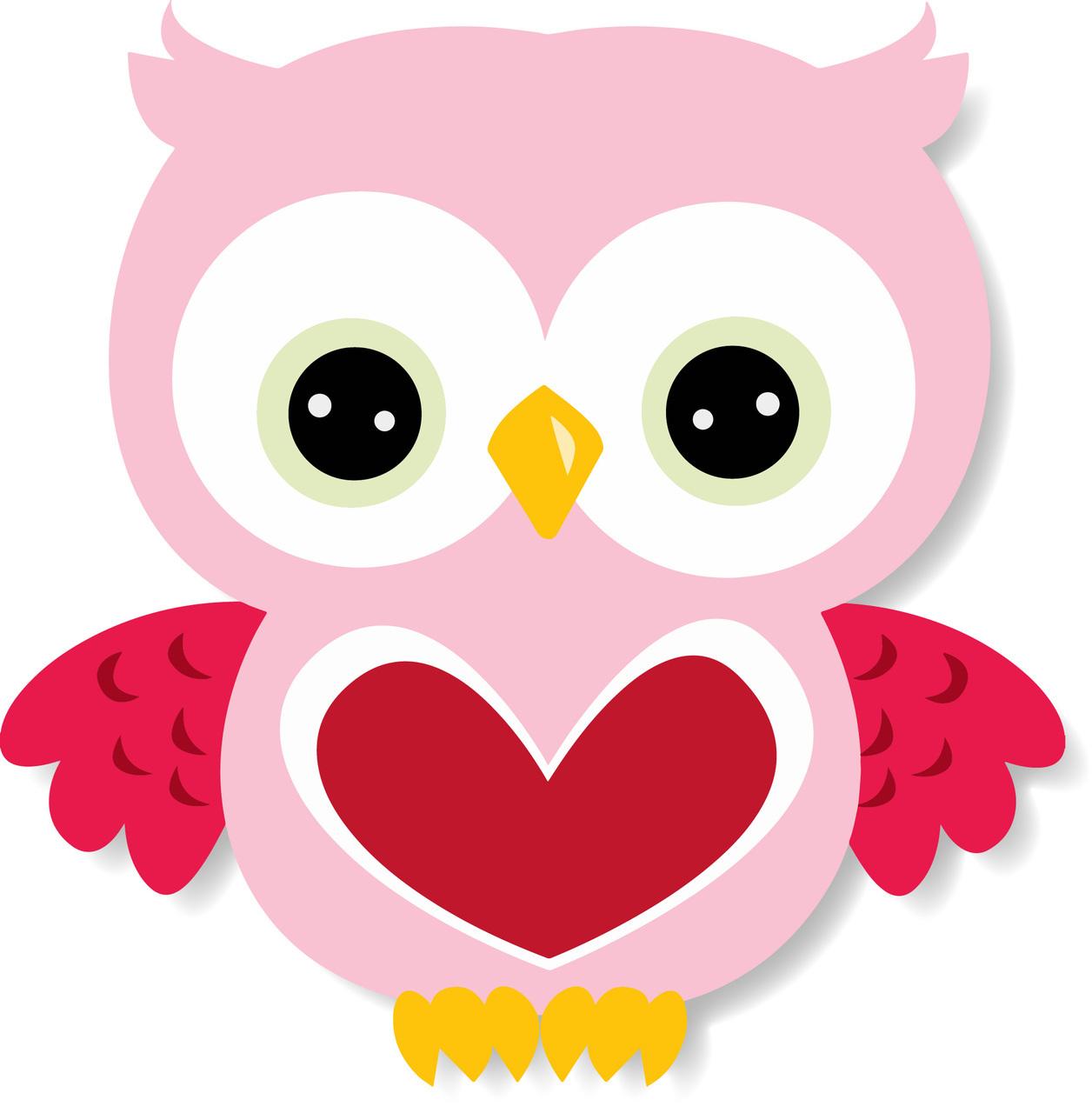 Cute owl clipart 7 - .