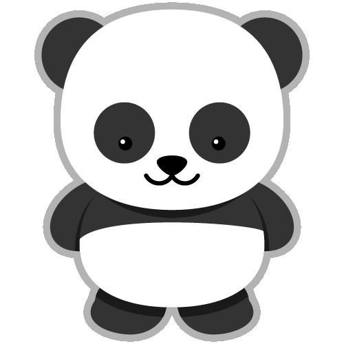 Cute panda clipart clipartion com