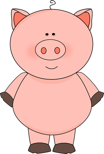 Cute Pig Clip Art - Cute Pig Image-Cute Pig Clip Art - Cute Pig Image-2