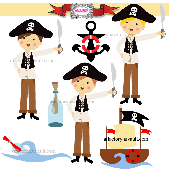Cute Pirate Clip Art Cute Pirate Clipart Cute