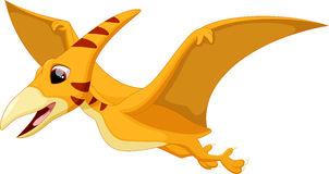 Cute pterodactyl cartoon Stock Photos