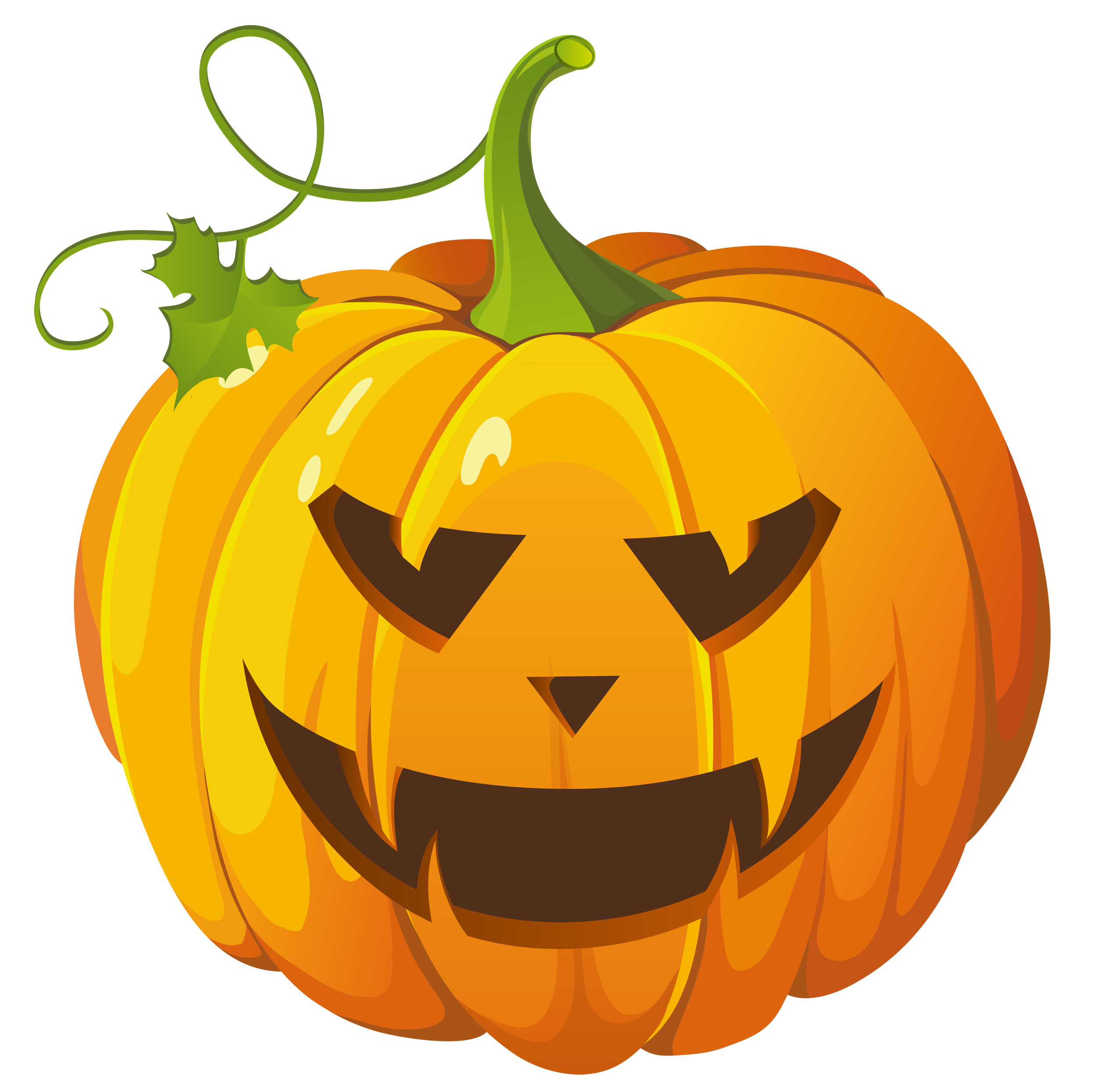 Cute Pumpkin Patch Clipart Large Transparent Halloween Pumpkin Clipart