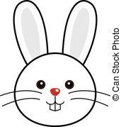 ... Cute Rabbit Vector - Cute Animal Fac-... Cute Rabbit Vector - Cute animal faces in (One of 25 of.-10
