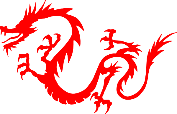 Cute Red Dragon Clipart .-Cute Red Dragon Clipart .-8