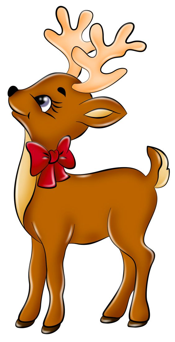 Cute Reindeer Clip Art Clipart - Free Cl-Cute Reindeer Clip Art Clipart - Free Clipart-6
