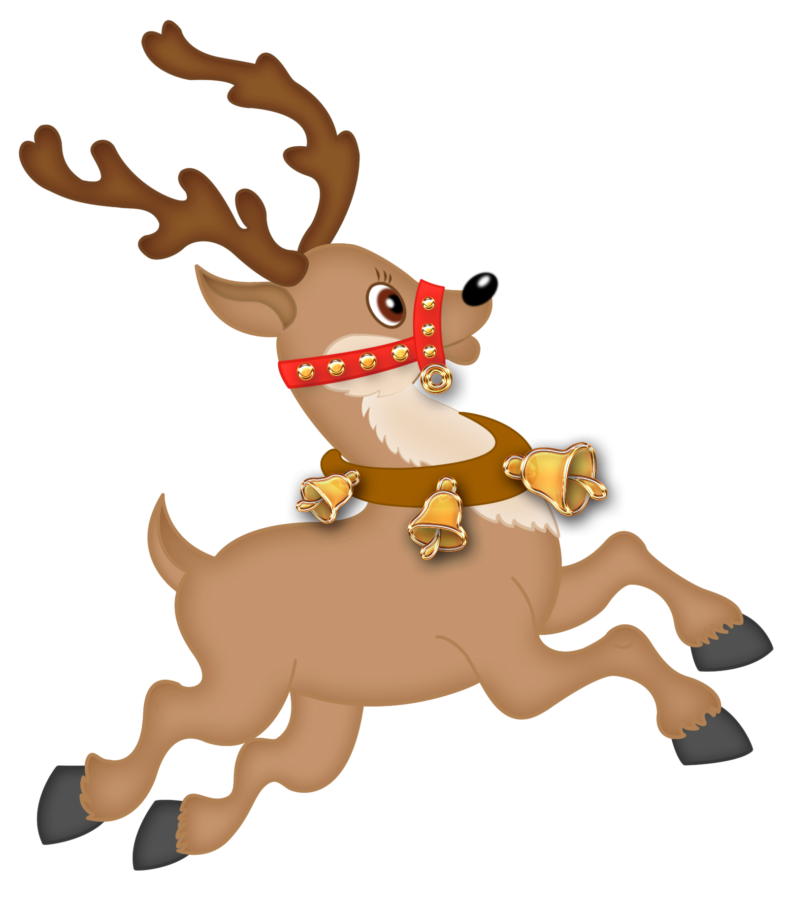 Cute Reindeer Png Clipart Png-Cute Reindeer Png Clipart Png-3