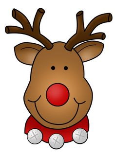 Cute Rudolph Clipart Cute Rudolph Freebie
