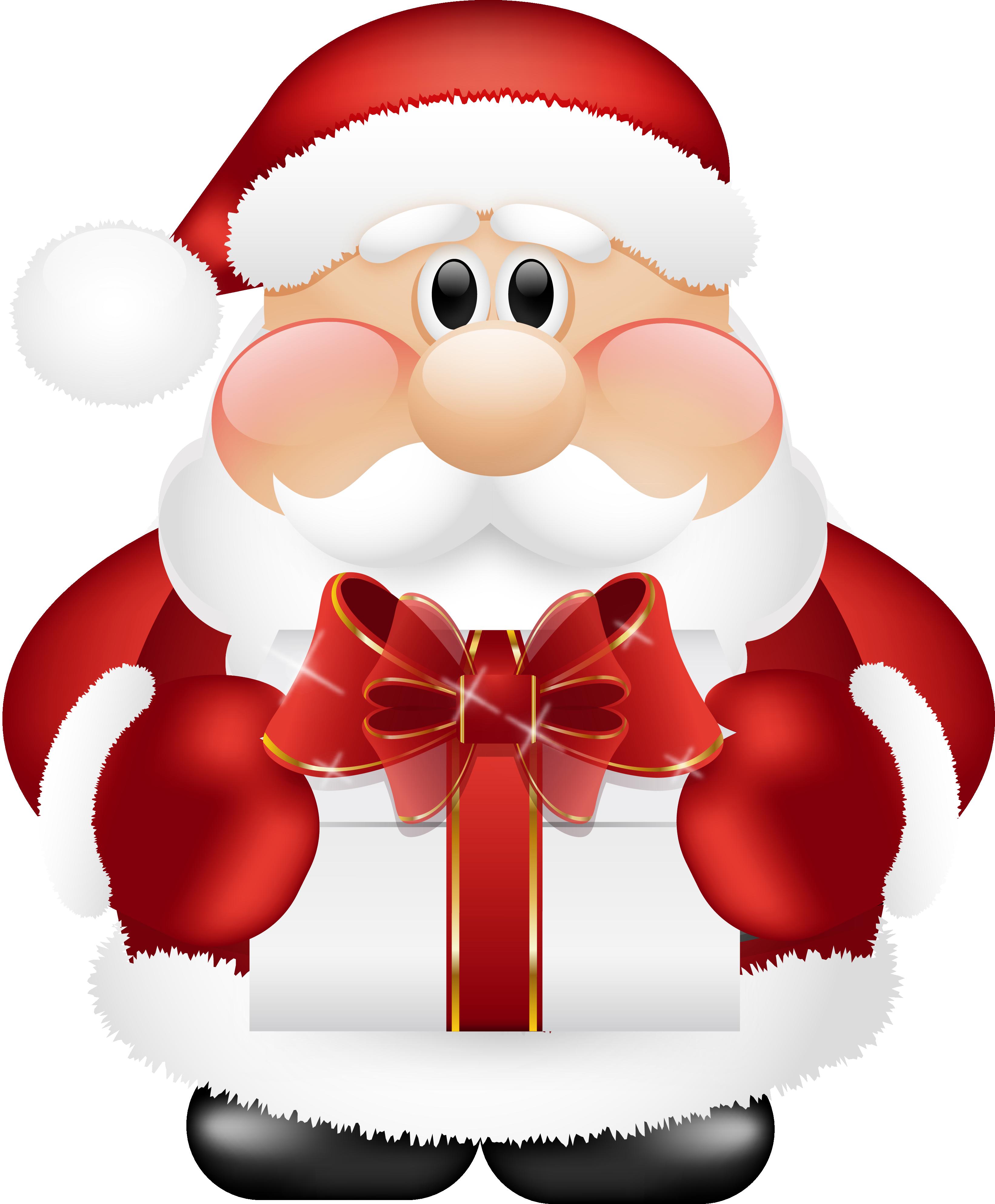 Cute Santa Claus Clip Art-Cute Santa Claus Clip Art-3