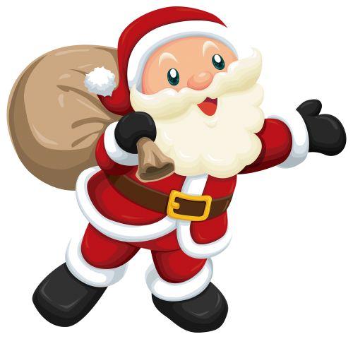 Cute Santa PNG Clipart The Best PNG Clipart - ClipartPNG clipartall.com
