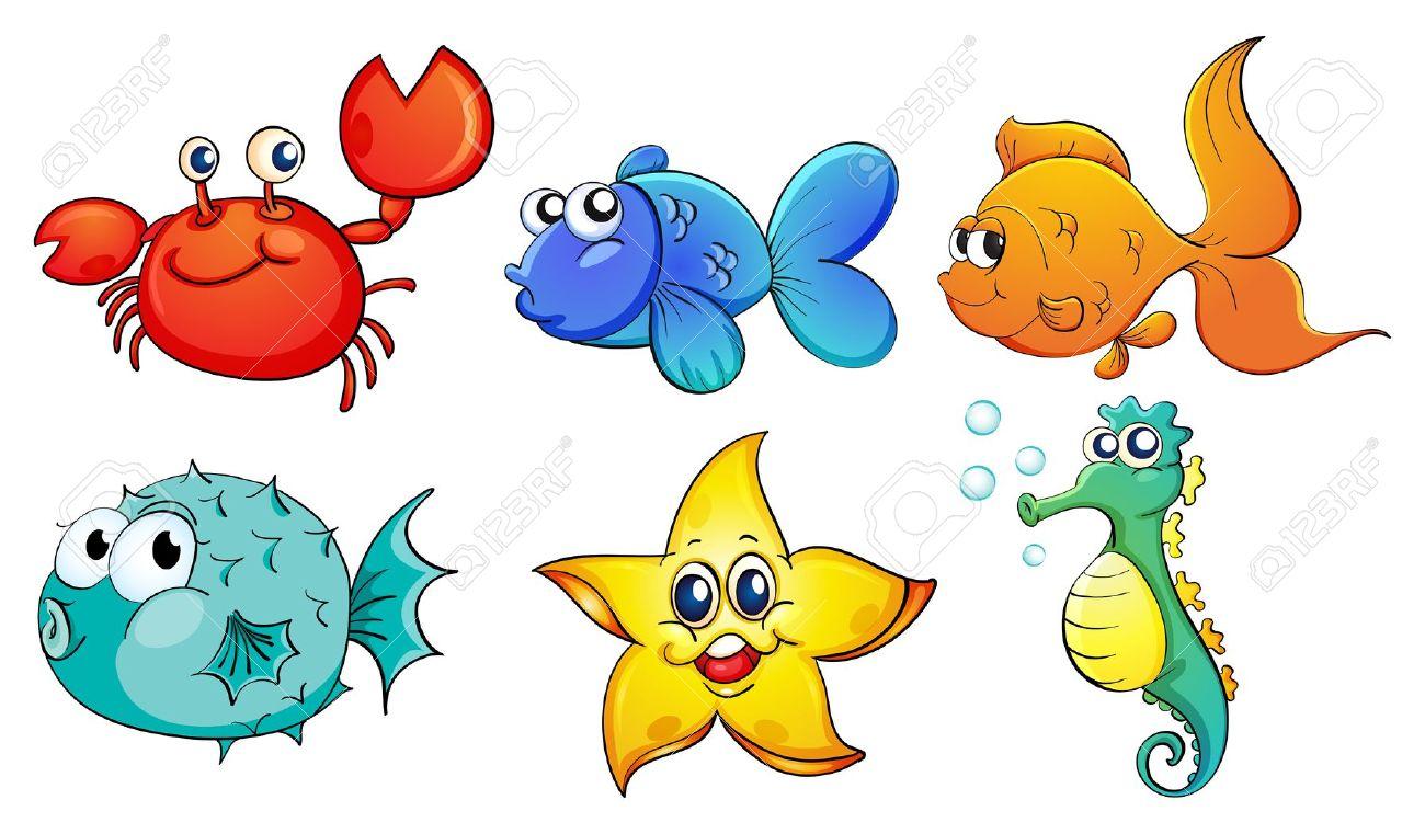 Cute Sea Creatures: .-cute sea creatures: .-6