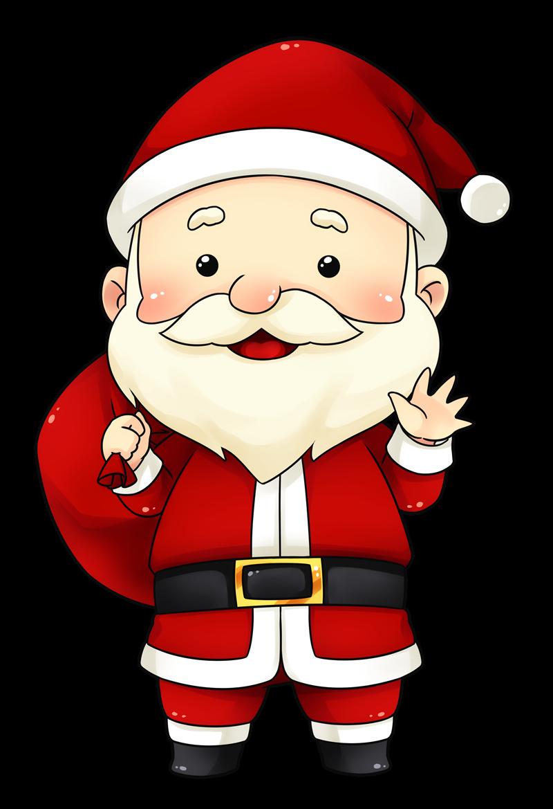 Cute secret santa clipart - .
