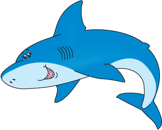 Cute Shark Clipart Cliparts Co-Cute Shark Clipart Cliparts Co-3