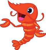 ... Cute Shrimp Cartoon Presenting-... Cute shrimp cartoon presenting-6