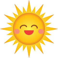 Cute Smiling Sun-Cute Smiling Sun-10