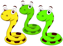 cute snake cartoon characters - Snake Clip Art