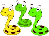 cute snake cartoon characters clipart. S-cute snake cartoon characters clipart. Size: 142 Kb-9