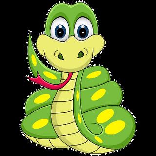 Cute snake clipart 5