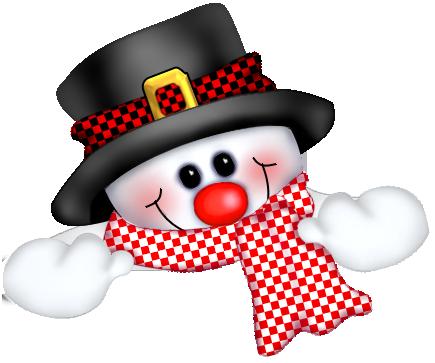 Cute Snowman Clipart-cute snowman clipart-2