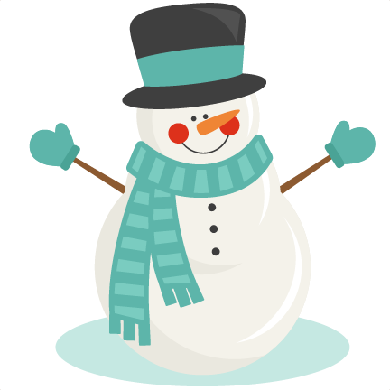 cute snowman clipart. Snowman Winter SVG scrapbook .