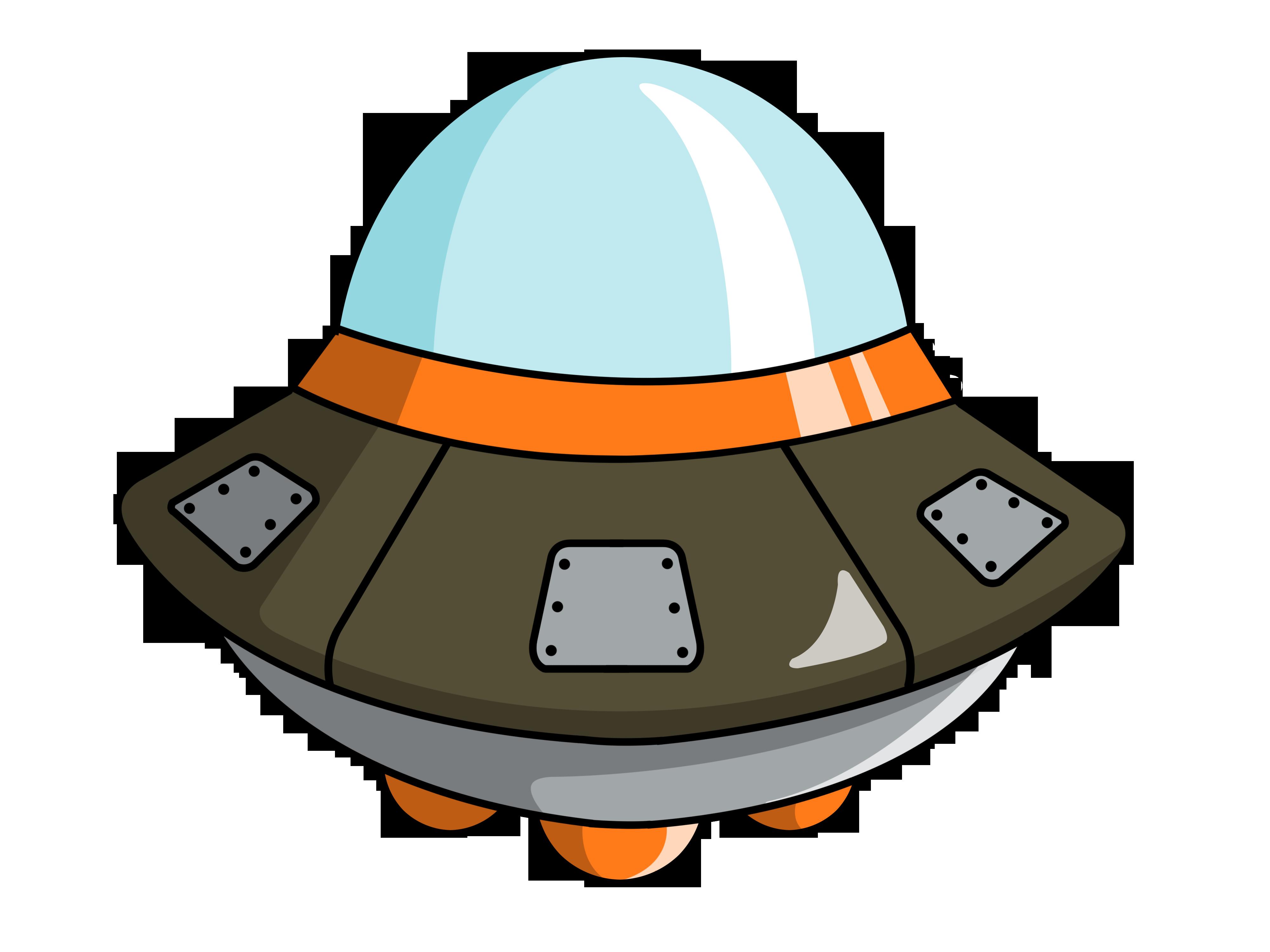 Cute Spaceship Clipart 2-Cute spaceship clipart 2-6
