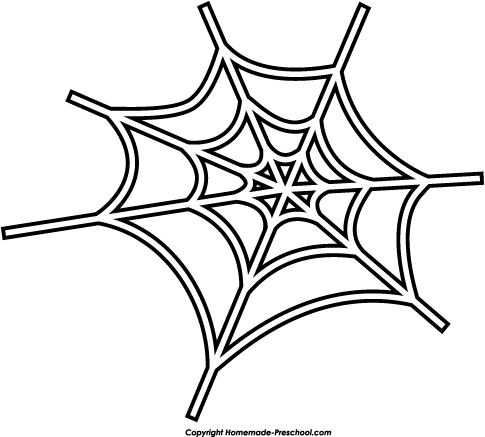 Cute spider web clipart free  - Spider Web Clipart