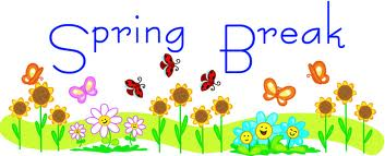 Cute spring break clipart