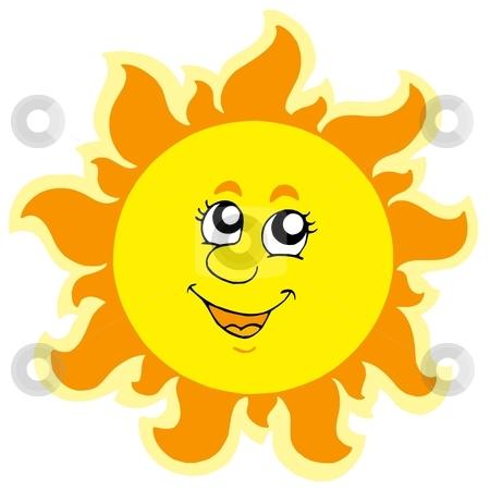 Cute Sun Clipart - .