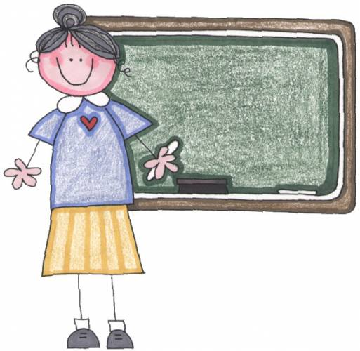 cute teacher clipart