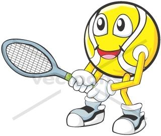 Cute Tennis Clipart