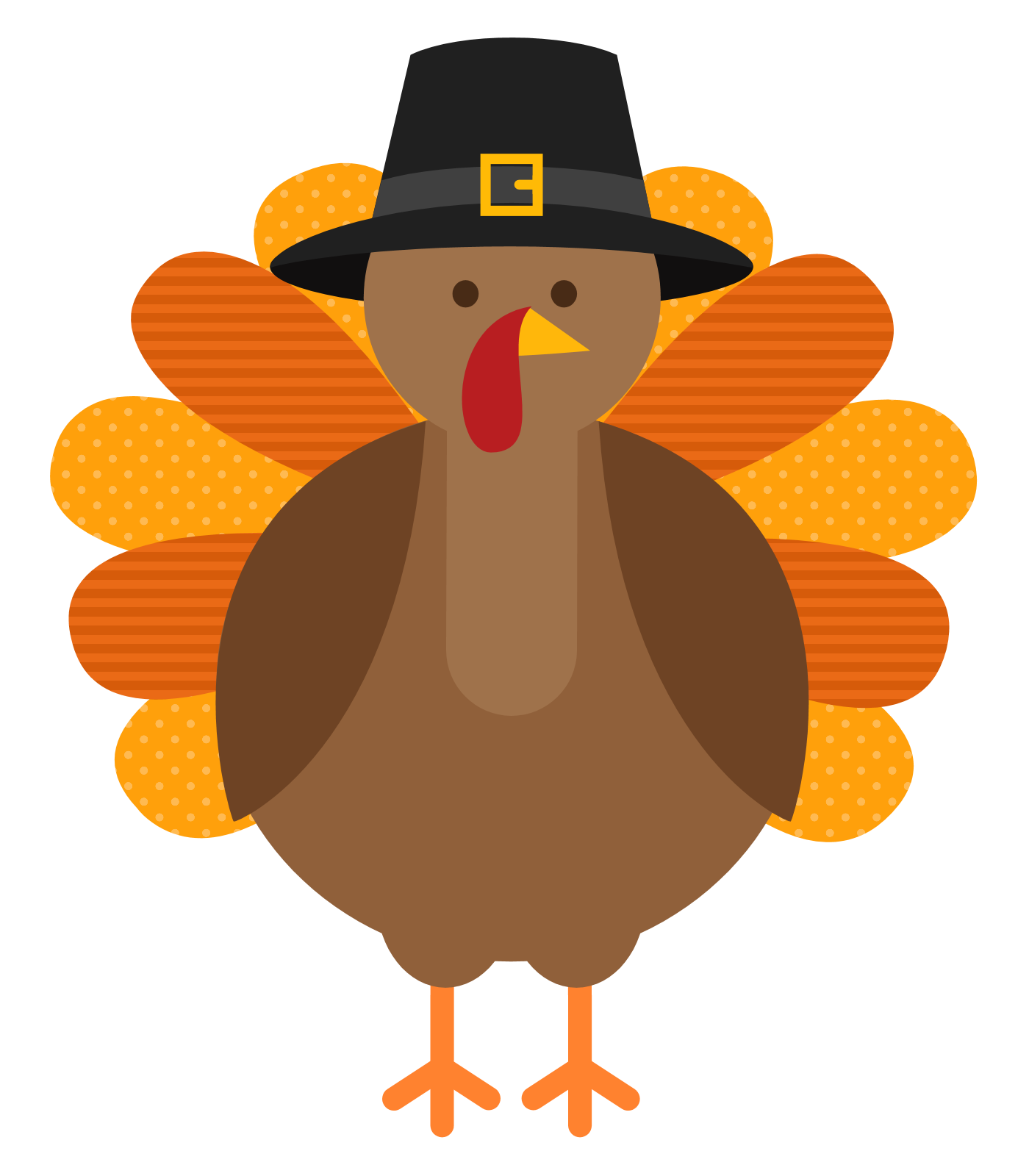 Cute Thanksgiving Turkey Clip Art A Very-Cute Thanksgiving Turkey Clip Art A Very Happy Thanksgiving-2