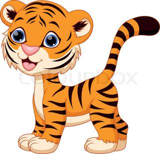 Cute Tiger Clipart. «-Cute Tiger Clipart. «-5