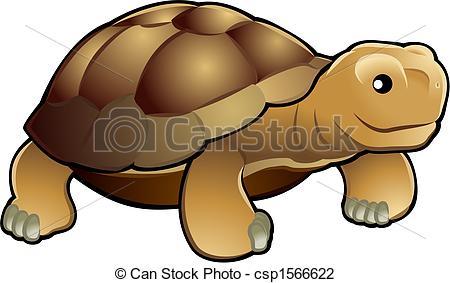 Cute Tortoise Vector Illustration - A Ve-Cute tortoise vector illustration - A vector illustration... Cute tortoise vector illustration Clip Artby ...-2