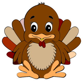 Cute Turkey Clipart Is Credited To Colorful Cliparts