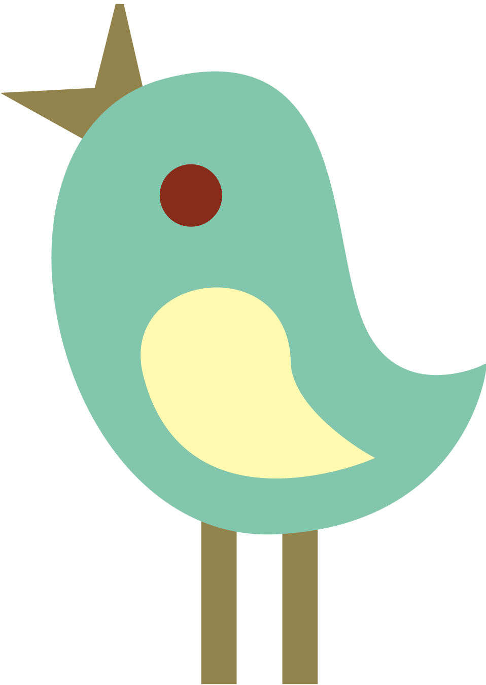 Cute Tweet Birds Clip Art Free Clipart Graphics Revidevi Wordpress