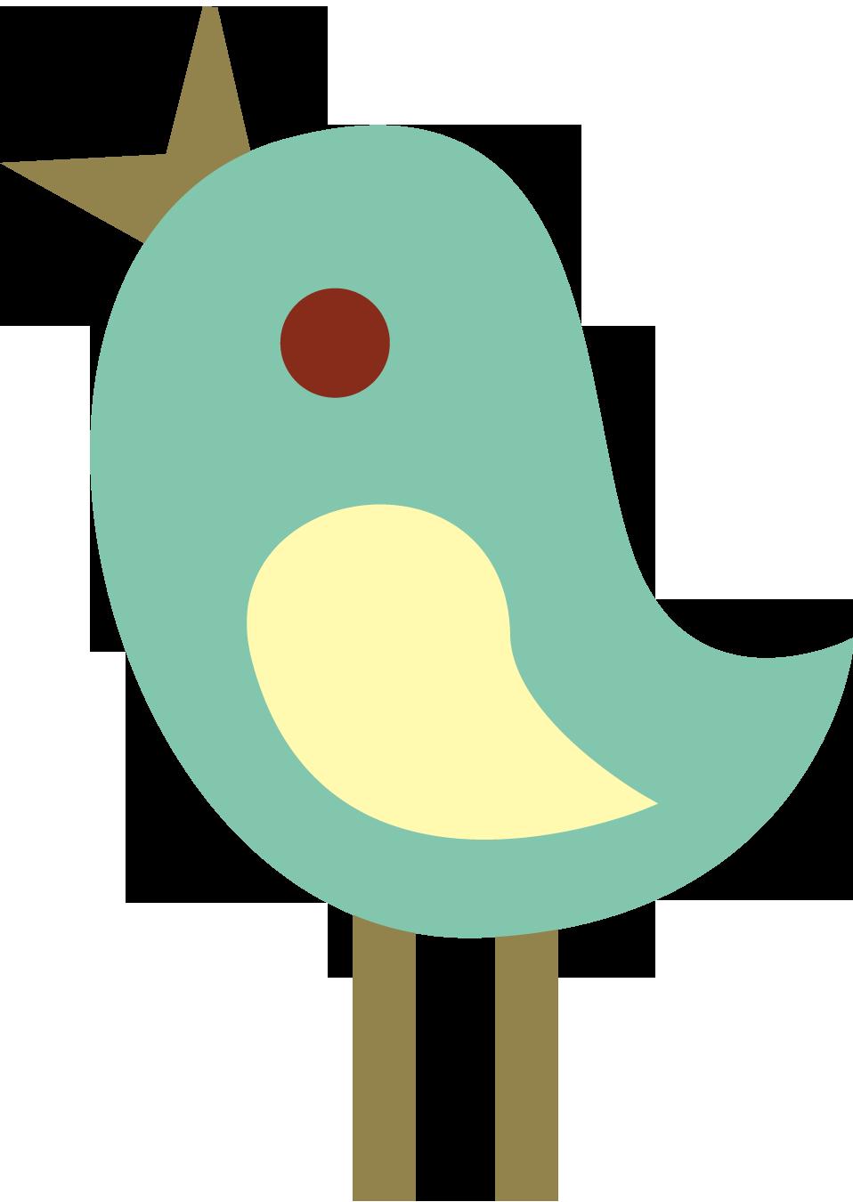 Cute Tweet Birds Clip Art Fre - Cute Bird Clipart