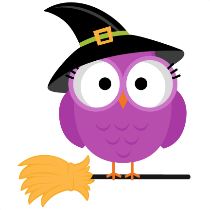 Cute witch clipart free - .