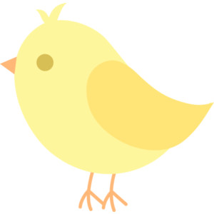 Cute Yellow Bird Clip Art ..