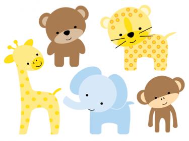 Cute Zoo Animal Clipart #1-Cute Zoo Animal Clipart #1-17