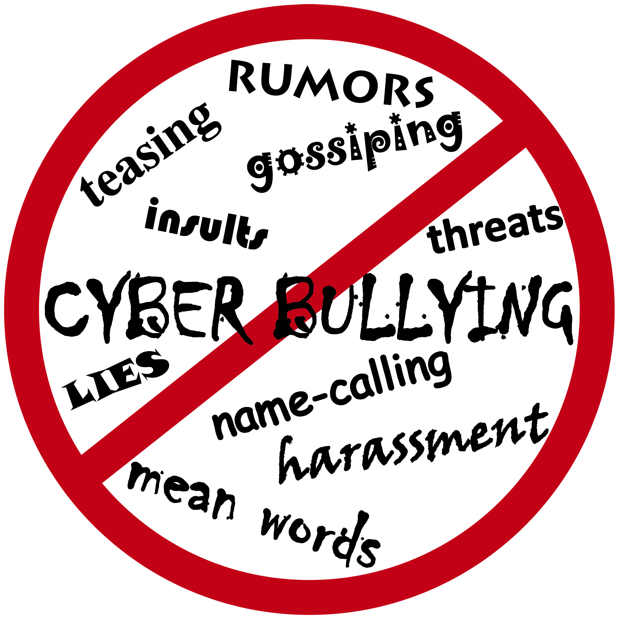 ... Cyberbullying vector icon