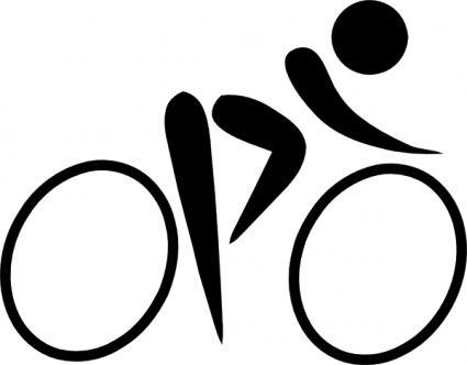 cyclist clipart-cyclist clipart-0