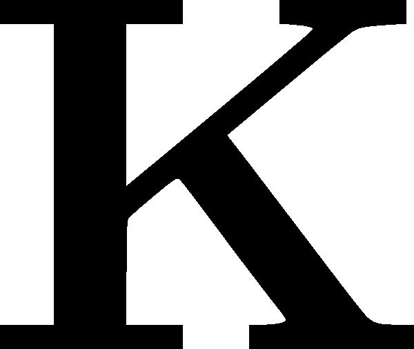 Cyrillic Letter K Clip Art At Clker Com -Cyrillic Letter K Clip Art At Clker Com Vector Clip Art Online-7
