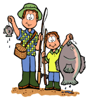Dad And Son Fishing-dad and son fishing-1