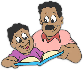 Dad Giving His Son A Gift Clip Art Clipart Image Pictures Car Pictures