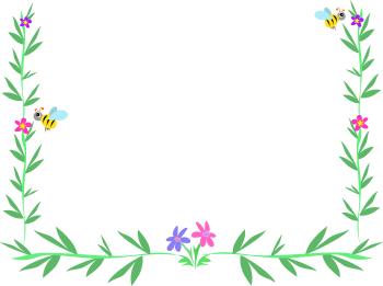Daffodil Border Clipart