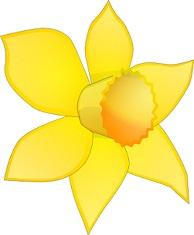 Daffodils Clipart