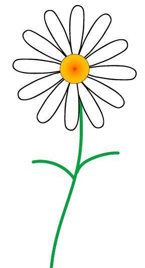 Daisy clip art at vector clip art free clipartcow