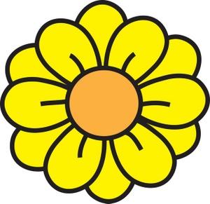 Daisy flower clipart kid 2