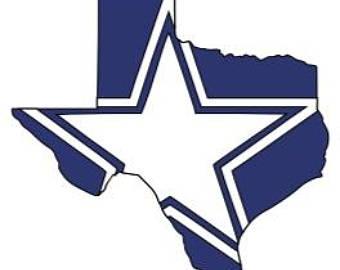 Dallas Cowboys Texas Vinyl-Dallas Cowboys Texas Vinyl-13
