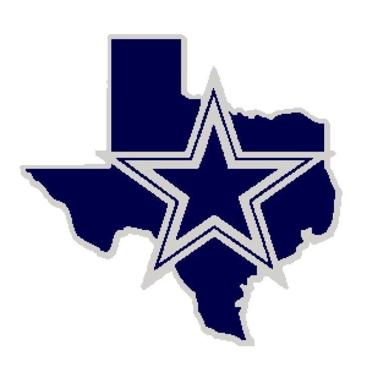 Dallas Cowboys Logo Tunisian .