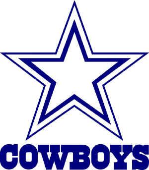 Dallas Cowboys Logo Tunisian